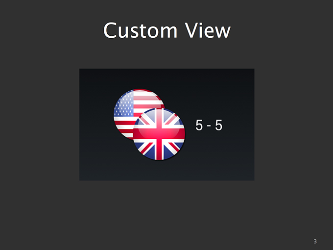 Custom View Example